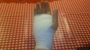 Bandage efter operation
